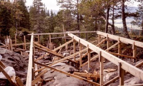 Byggingen av Vassfjellkapellet
