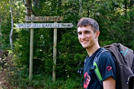 Veien til Vassfjellkapellet